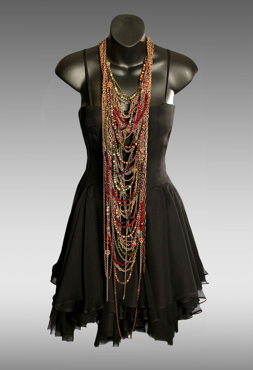 Dress-(Black),-Red-and-Gold-Necklace-(On-Maneq)M