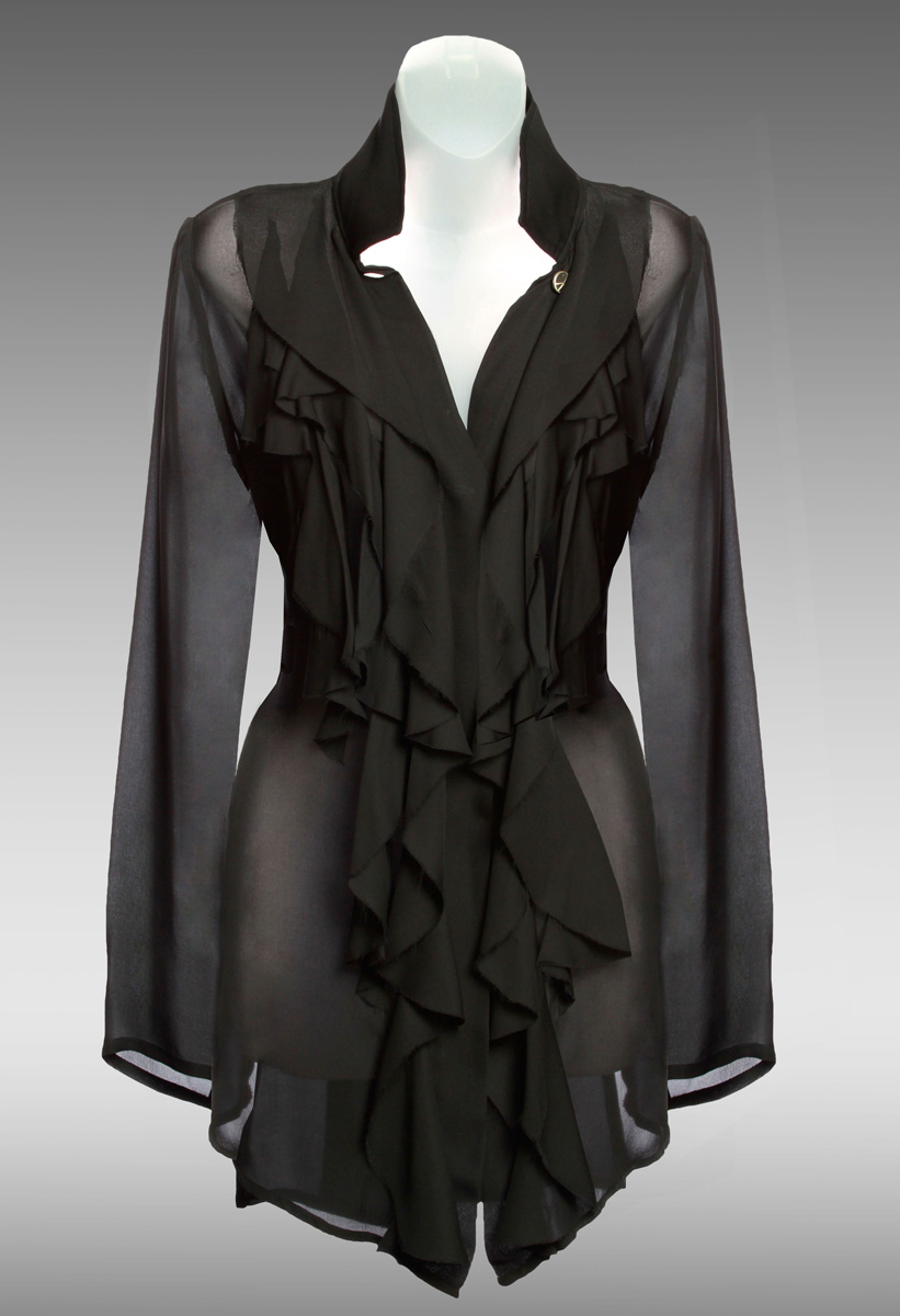Muse-Shirt-Blouse-(Black)-[Front}M