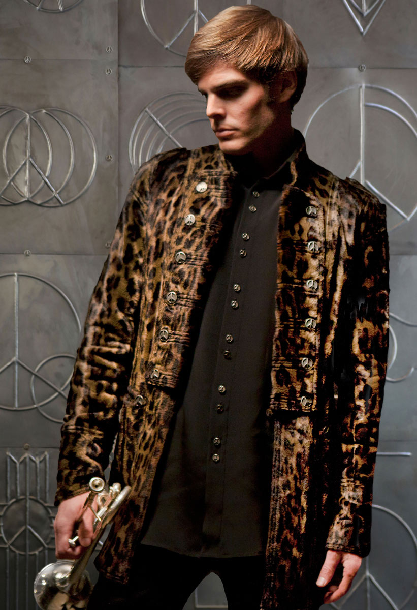 Mens-(Leopard)-Guardsman-Jacket